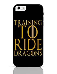 PosterGuy iPhone 6 / 6S Case Cover - train to ride dragons Sarcasm,Gym,GOT,Motivational