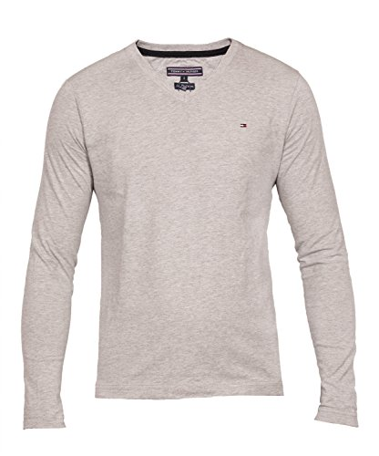 tommy-hilfiger-flag-longsleeve-tshirt-shirt-tee-v-nk-farbegreygrossexxl