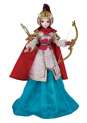 [Mulan Doll OMISS Royal Princess Collectable doll in Gorgeous Suit Chinese Fairy Tale 11.5 Inches] (Chinese Doll Halloween Costume)