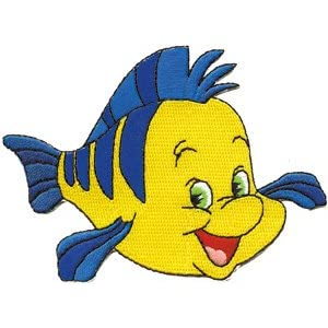 Pin little mermaid fish coloring page on pinterest for Little mermaid fish
