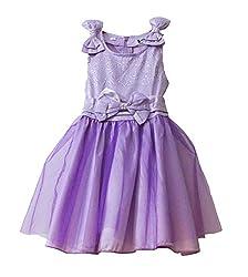 TheTickleToe Girls Kids Satin Tutu Party Dress 3-4 Years