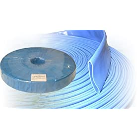 Alpine FDH600 6 Inch Lay Flat Blue Water Discharge Hose x 300 FT