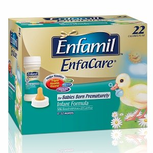 Enfamil Enfacare Enfamil Enfacare Ready to Feed Infant Formula for Babies Born Prematurely, Nursette Bottles 6 ct (Quantity of 4)