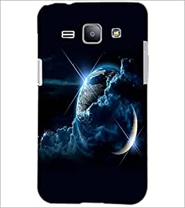 PrintDhaba Earth D-2349 Back Case Cover for SAMSUNG GALAXY J1 (Multi-Coloured)