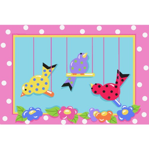 Swingin Chicks Area Rug 39