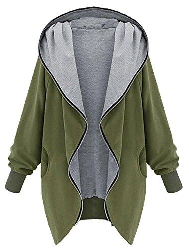 minetom-damen-frauen-hoodie-kapuzen-parka-herbst-frauen-oversize-parka-hooded-zipper-jacke-cardigan-