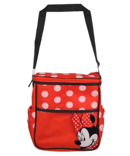 Disney Minnie Mid Sized Diaper Bag, Red (Discontinued by Manufacturer) - 1