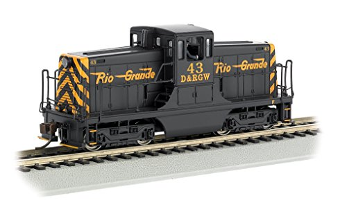 Bachmann Ge 44 - Ton Switcher Dcc Equipped Locomotive - D&Rgw? #43 (Black & Orange) (Ho Scale)