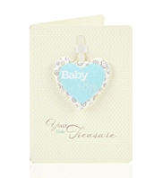 Baby Boy Keepsake Greetings Card