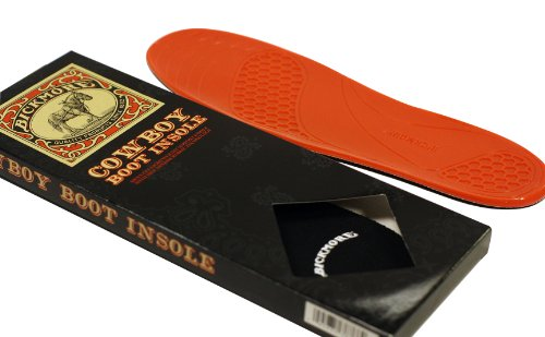 Boot Insoles - Great for Cowboy Boots, Work Boots and More - Excellent Comfort and Flexibility - One Size Fits All