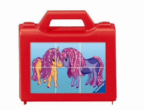 Ravensburger Pony Love (6 pc Cube Puzzles)