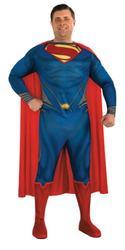 Rubie's Costume Plus-Size Man Of Steel Adult Superman Costume
