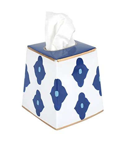 Jayes Felix Tissue Box Cover, Navy