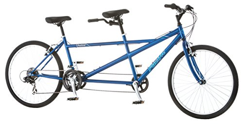 "Sale!! Pacific Dualie Tandem Bicycle with 26"" Wheels, Blue, 16""/One Size"