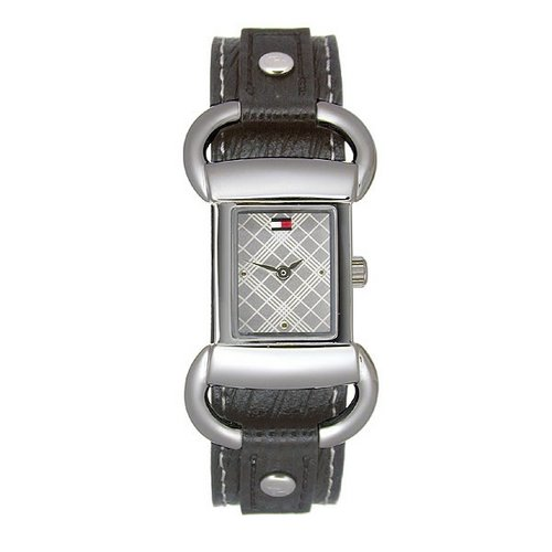 Tommy Hilfiger Ladies' Watch Black Leather Band 1780620
