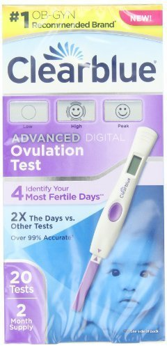 Clearblue-Advanced-Digital-Ovulation-Test-20-Count-Gift-Baby-NewBorn-Child