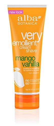 alba-botanica-0885723-crema-emoliente-muy-shave-mango-vanilla-8-oz
