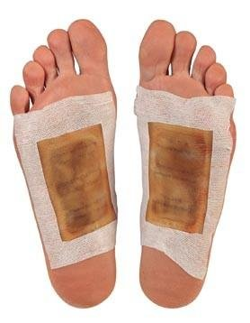 weight loss pain reduction Detox foot pads detoxifying patches Health Kinoki