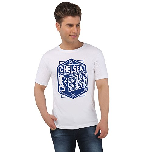 EETEE Football Chelsea One Love White T-shirt  available at amazon for Rs.449