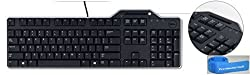 Dell KB813 Smartcard Keyboard (English) with wire wrap - R4F7T