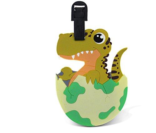 WeGlow International Fun Luggage Tag - Baby T-Rex
