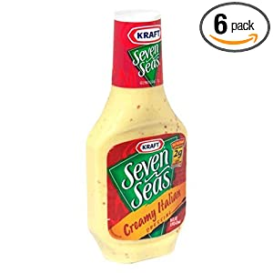 Amazon.com : Seven Seas Dressing, Creamy Italian, 16-Ounce Bottles