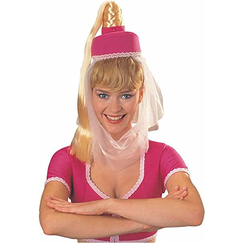 I Dream of Jeannie Headpiece with Hair