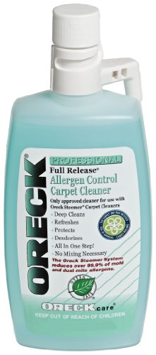Oreck 40257-01 Full Release Allergen Control Carpet Cleaner 16 oz. (Oreck Xl Shield compare prices)
