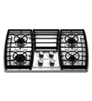 Big Sale Best Cheap Deals Kitchenaid KGCK306VSS 4 Burners Stainless Steel Surface Architect Series II