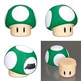 Nintendo Super Mario Mushroom Salt and Pepper Shaker (1-Up Mushroom/Green)