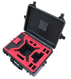 Koffer / Transportkoffer von MC CASES passend für DJI Phantom 3 Professional und Advanced mit Platz für 6 Akkus