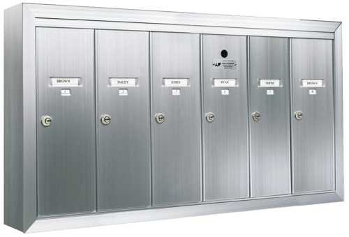 Auth florence 12506smsha mailbox surface mounted for Auth florence