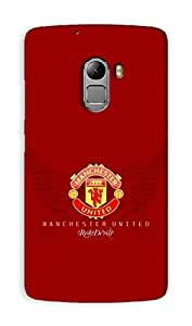 Lenovo K4 Note / Lenovo A7010 Manchester United Football Club Design Back Cover - Printed Designer Cover - Hard Case - LK4NTCMBMUFC0111