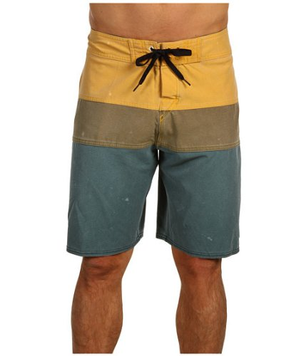 Quiksilver Boardshorts Mens 'No Frills' Cypher Series Sz 32 Mustard