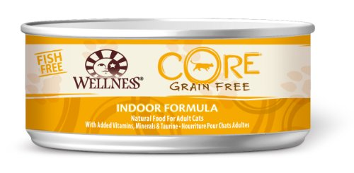 Wellness CORE Grain Free Indoor Formula Pet Food Can, 5.5-Ounce