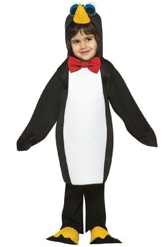 Toddler Light Weight Penguin Costume - Child Size 3T-4T