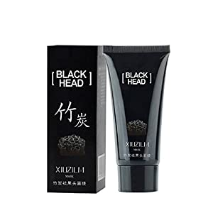 EFINNY Charcoal Blackhead Remover Deep Cleansing Peel Off Acne Black Mask