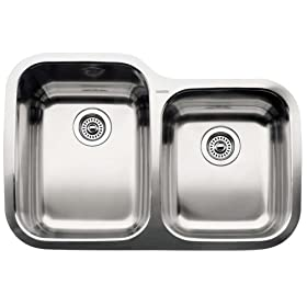 Blanco : 510-887 Supreme Stainless Steel Sink (Depth: 10in / 8in)