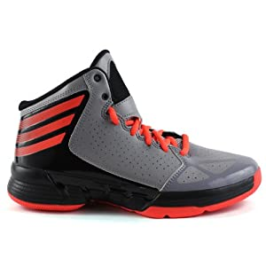 Adidas Mad Handle J Basketball Shoes - Aluminum/Red/Black (Kids) - 7