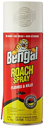 BENGAL CHEMICAL Roach II, 9 oz (Roach Spray compare prices)