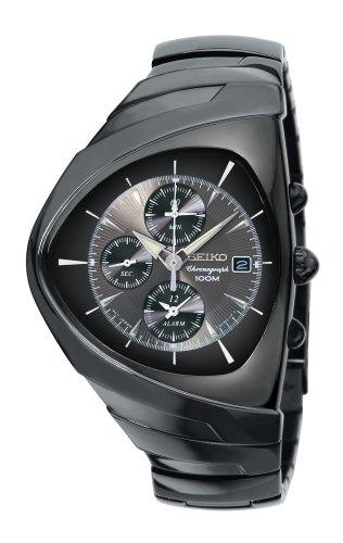 Seiko Men's Alarm Chronograph Titanium Watch #SNAA03
