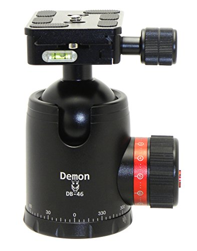Demon DB-46 46mm Tripod Ball Head Arca Compatible with Pan Lock & 60mm QR Plate (Ball Head Arca Swiss compare prices)