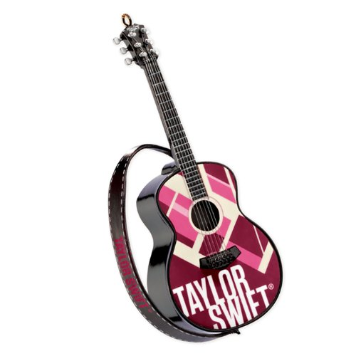 Carlton Heirloom Magic Ornament 2013 Taylor Swift - Guitar - #CXOR049D
