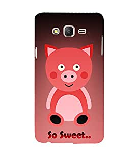 Teddy Bear 3D Hard Polycarbonate Designer Back Case Cover for Samsung Galaxy On7 Pro :: Samsung Galaxy ON 7 Pro