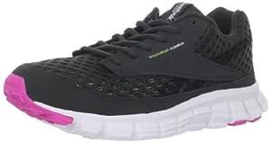 Reebok Women's Smoothflex Running Shoe,Gravel/White/Pink/Green,8.5 M US