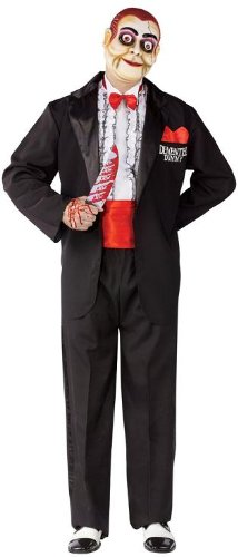 Demented Dummy Ventriloquist Costume - Standard - Chest Size 33-45