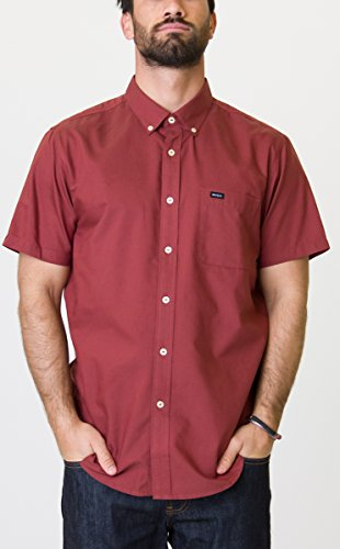 RVCA Mens Thatll Do Oxford Shirt
