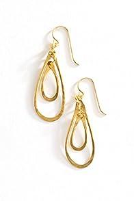 Imagine Jewelry Double Loop Made in USA Earrings