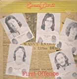 FIRST OFFENCE LP (VINYL) UK SATRIL 1978