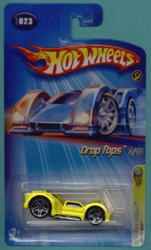 Mattel Hot Wheels 2005 Drop Tops 1:64 Scale Yellow Curbside Die Cast Car #023